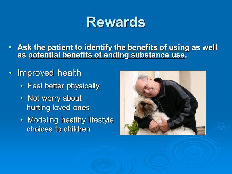 Rewards Improved health