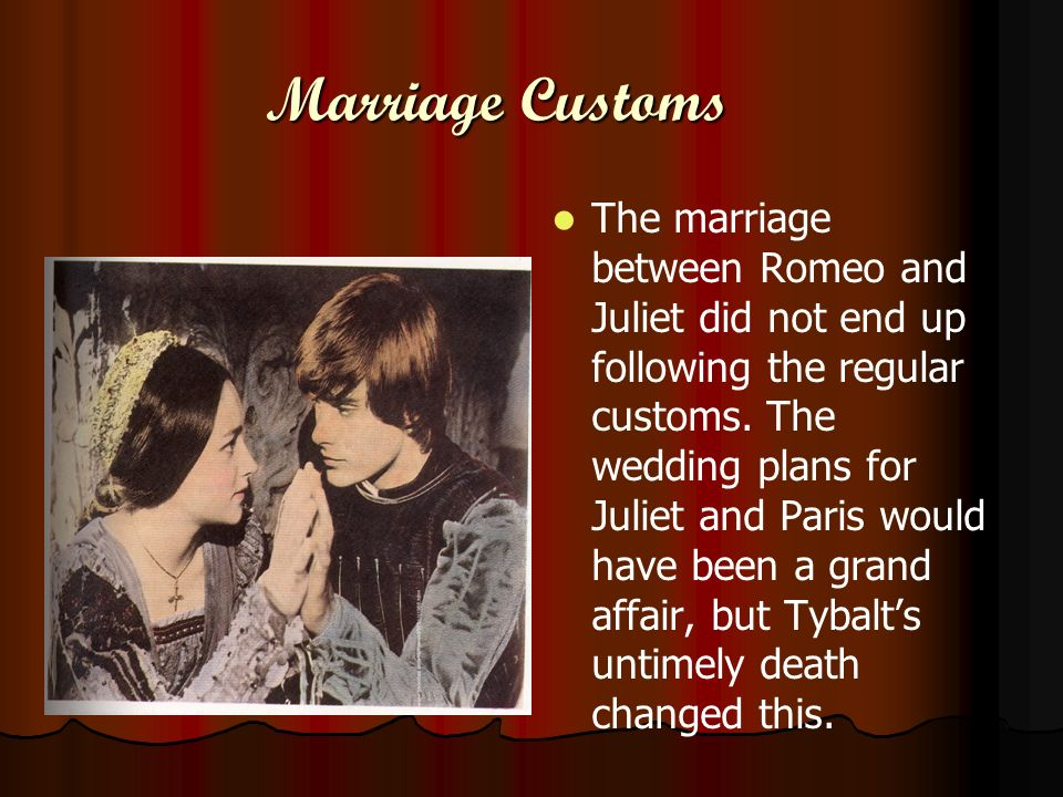 Marriage Customs