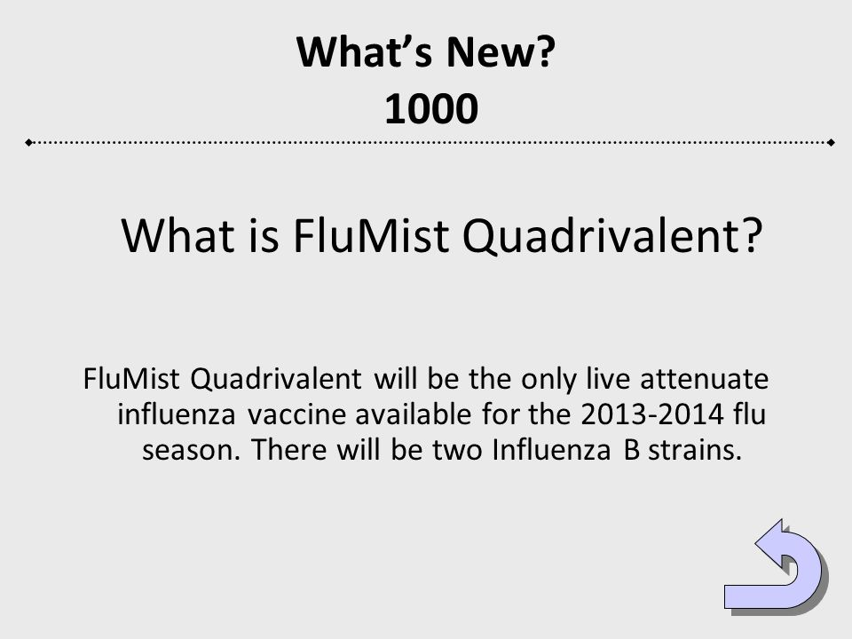 What is FluMist Quadrivalent