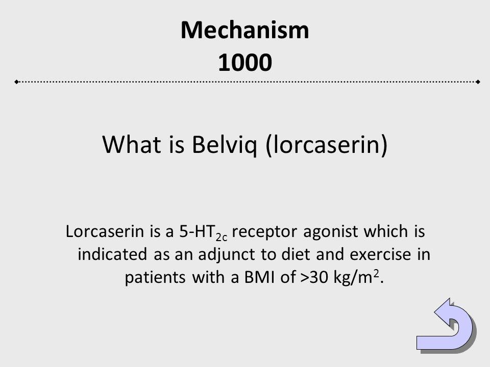 What is Belviq (lorcaserin)