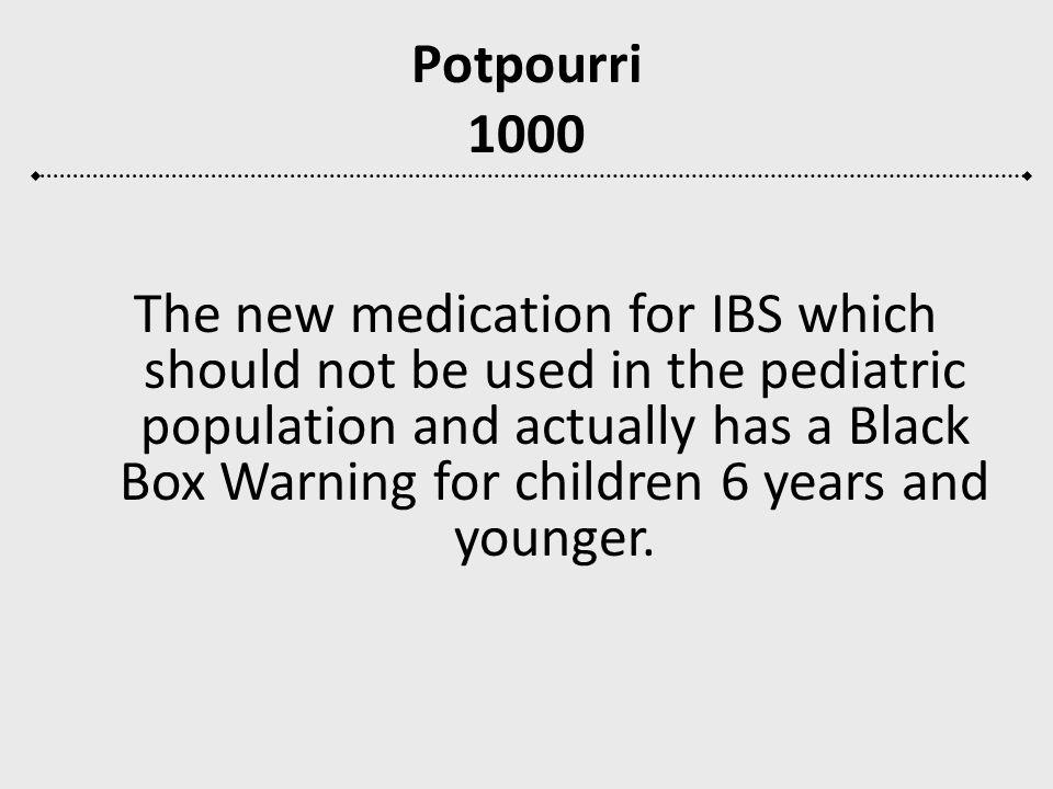Potpourri 1000