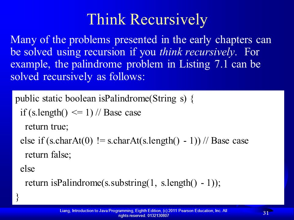 Think Recursively