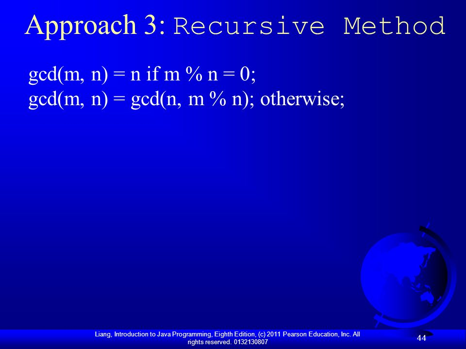Approach 3: Recursive Method