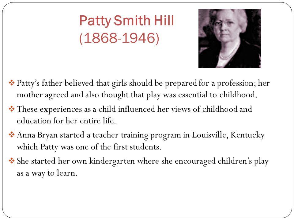 Patty Smith Hill (1868-1946)