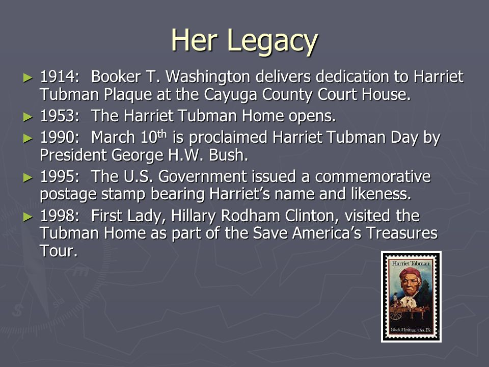 Her Legacy 1914: Booker T. Washington delivers dedication to Harriet Tubman Plaque at the Cayuga County Court House.