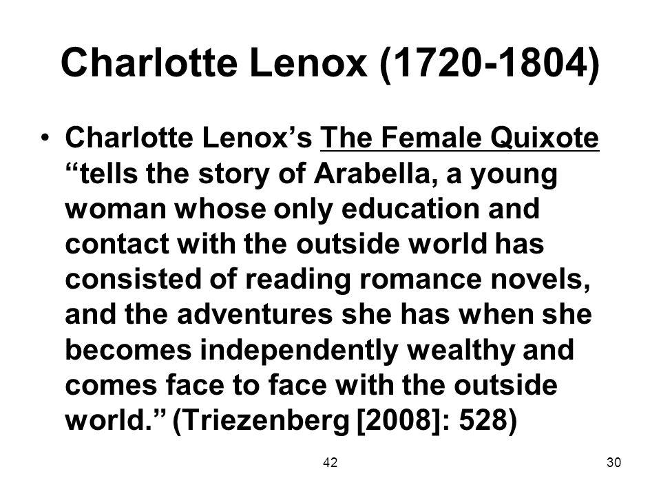 Charlotte Lenox (1720-1804)