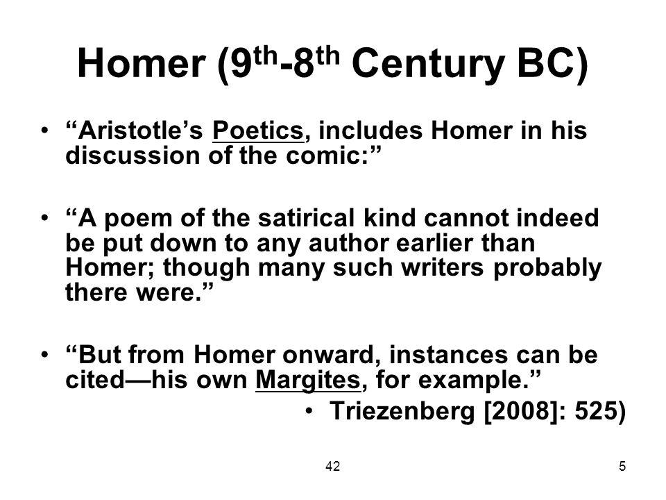 Homer (9th-8th Century BC)