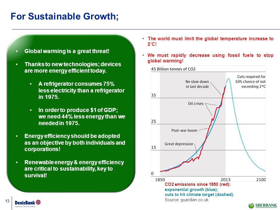 For Sustainable Growth;