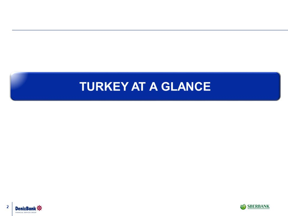 TURKEY AT A GLANCE