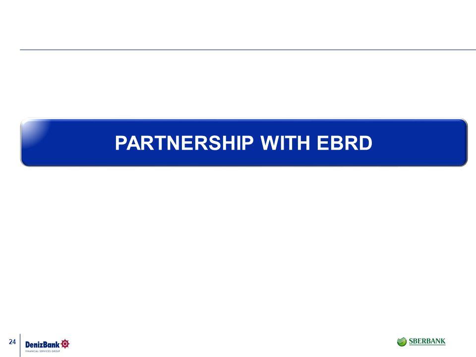 PARTNERSHIP WITH EBRD