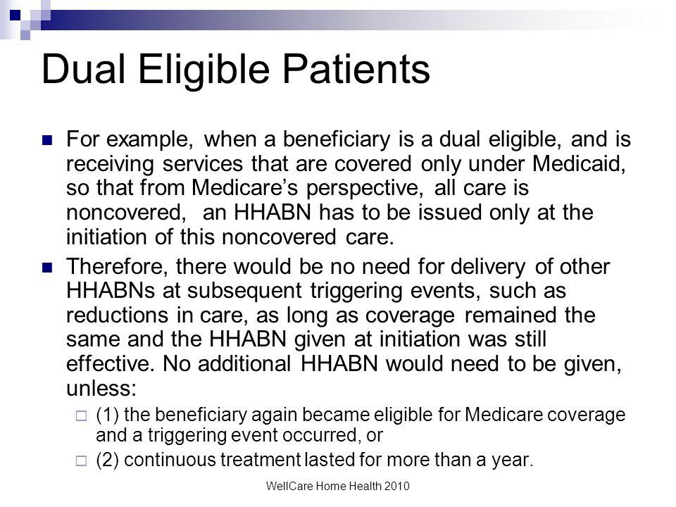 Dual Eligible Patients