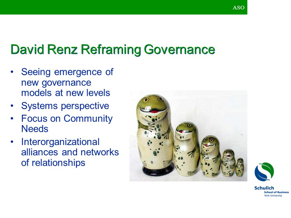David Renz Reframing Governance