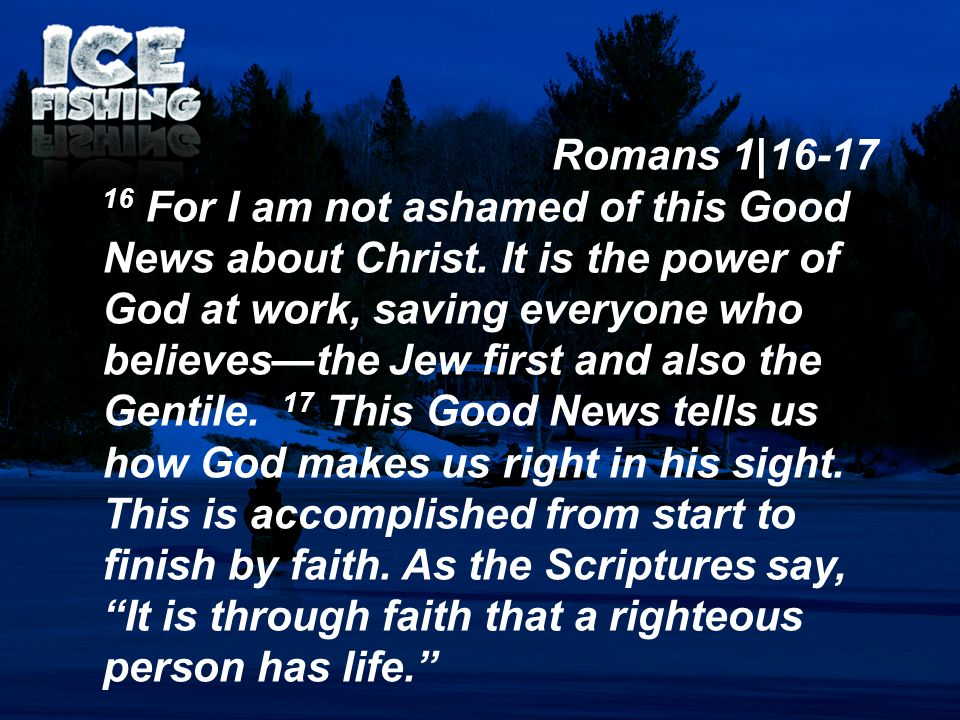 Romans 1|16-17
