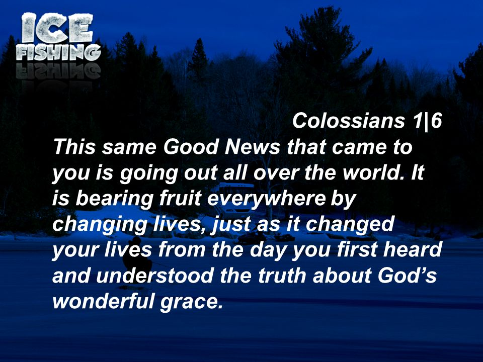 Colossians 1|6