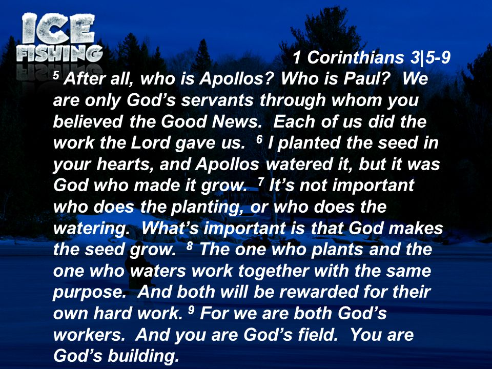 1 Corinthians 3|5-9