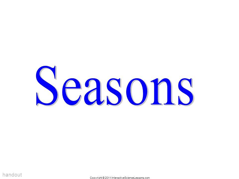 Seasons handout