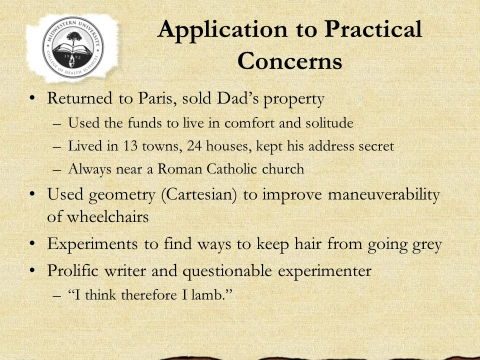 Application to Practical Concerns