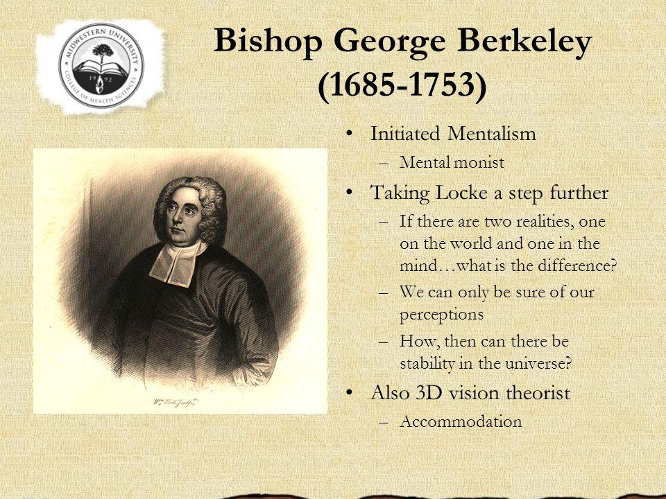 Bishop George Berkeley (1685-1753)