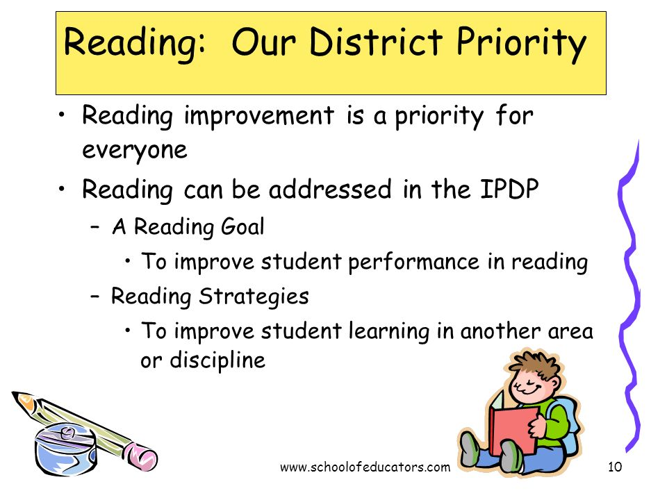 Reading: Our District Priority