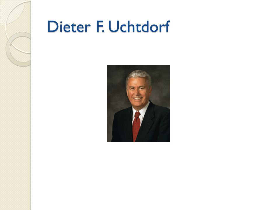 Dieter F. Uchtdorf