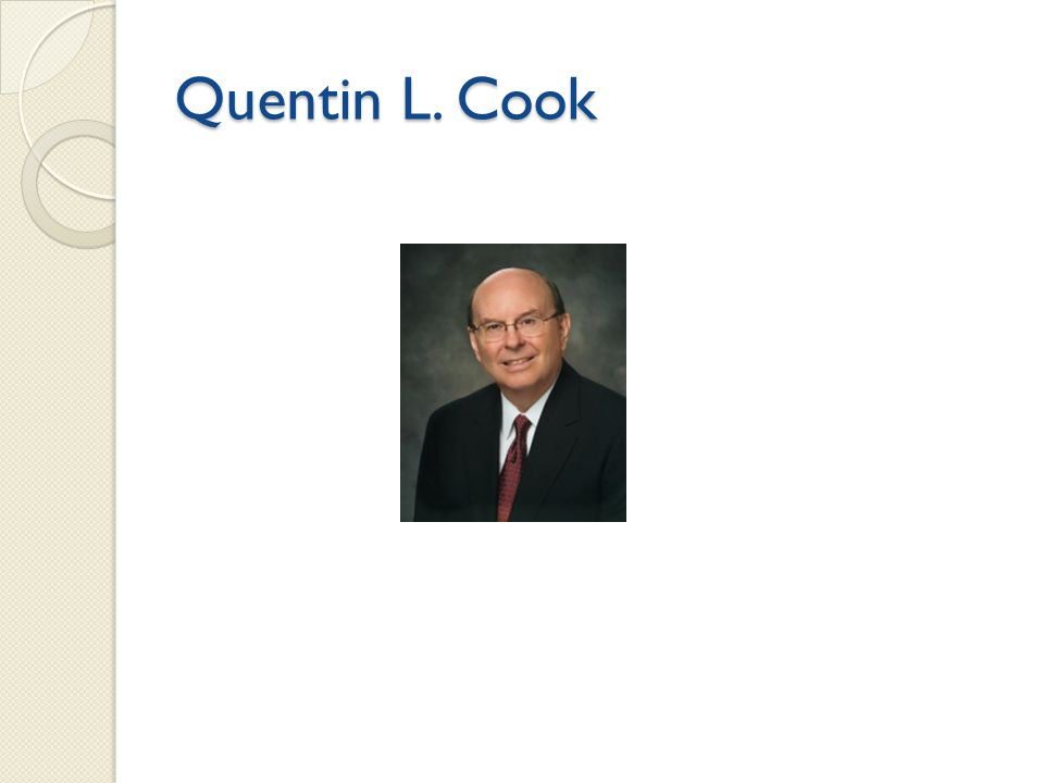 Quentin L. Cook