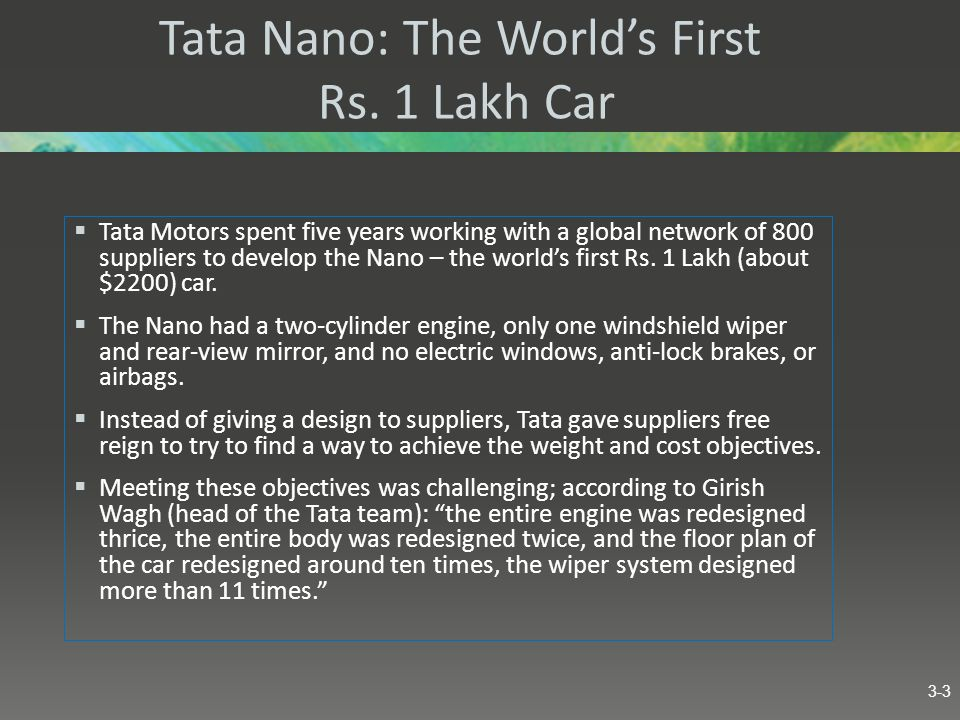 Tata Nano: The World's First Rs. 1 Lakh Car