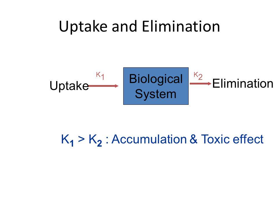 Uptake and Elimination
