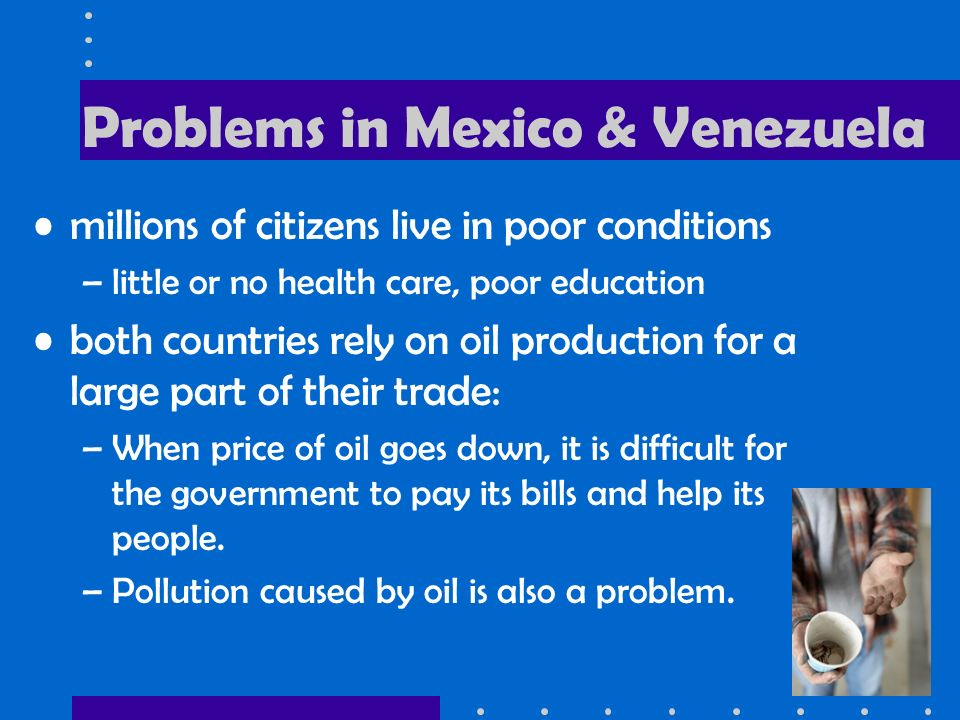 Problems in Mexico & Venezuela