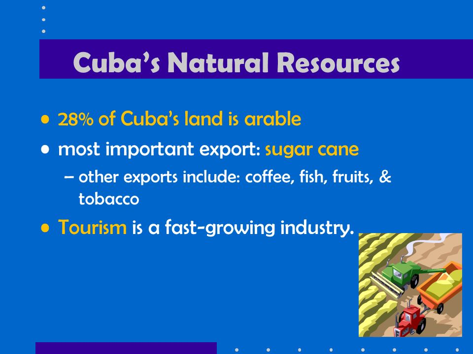 Cuba's Natural Resources