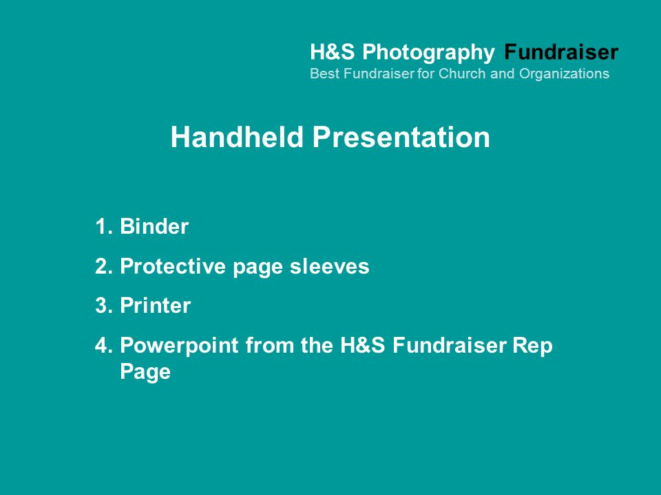 Handheld Presentation