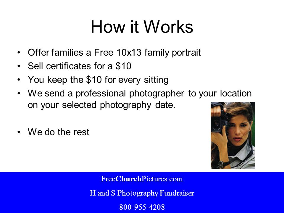 H and S Photography Fundraiser