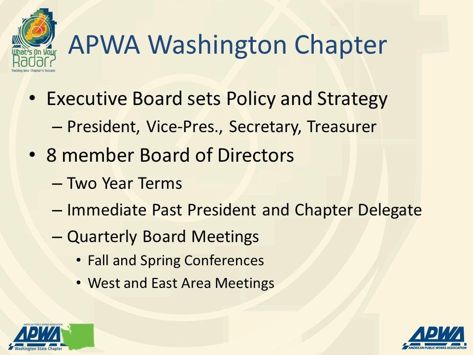 APWA Washington Chapter