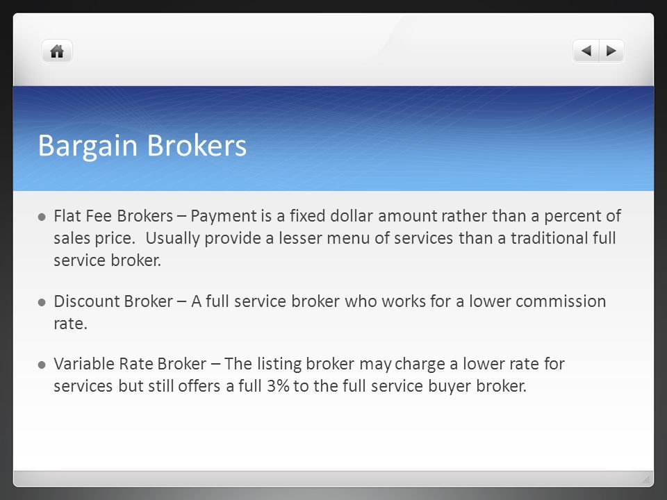Bargain Brokers