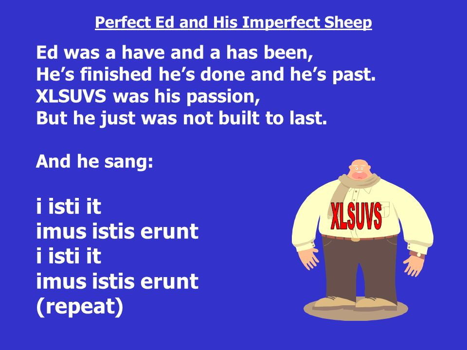 Perfect Ed and His Imperfect Sheep