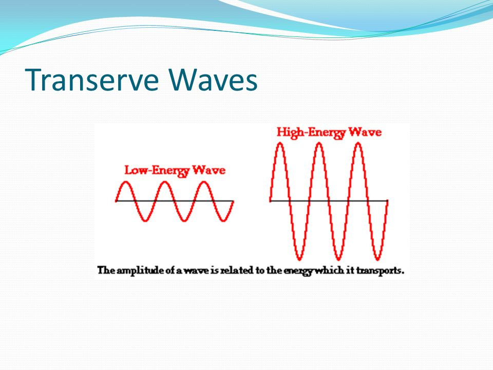 Transerve Waves