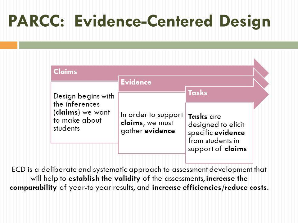 PARCC: Evidence-Centered Design