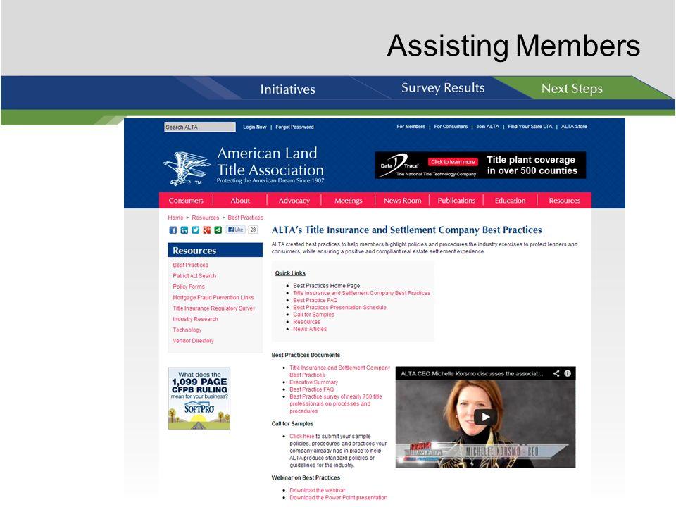 Assisting Members