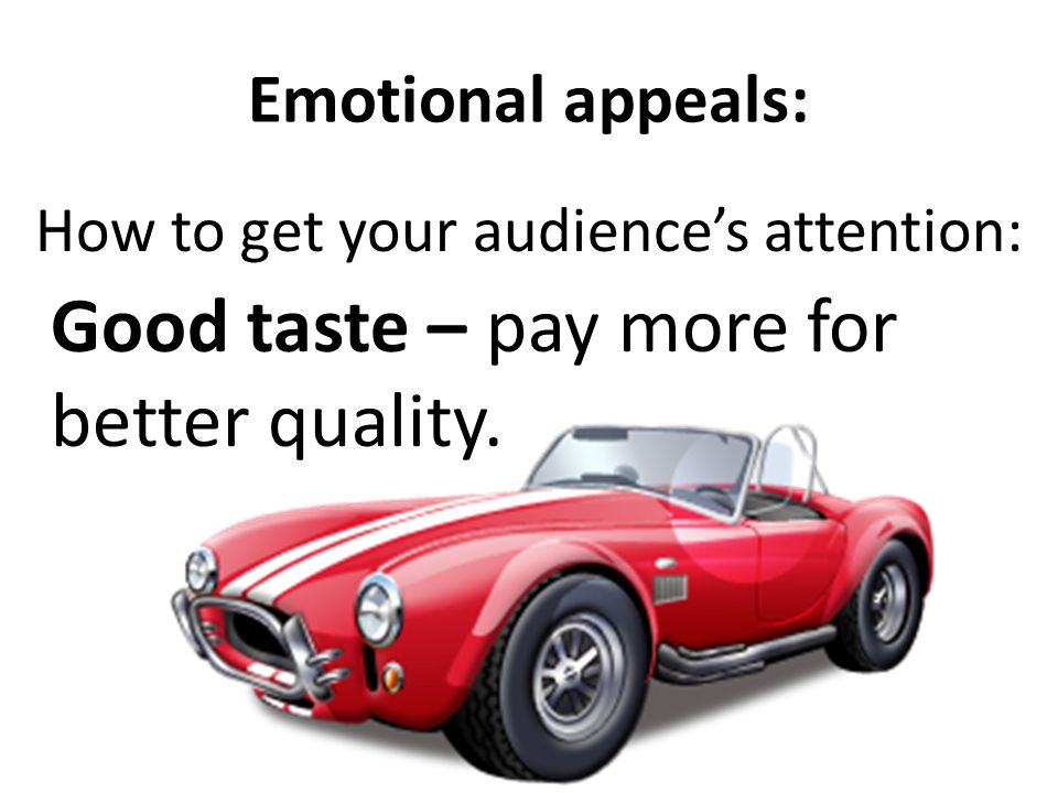 How to get your audience's attention: