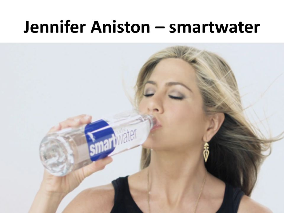 Jennifer Aniston – smartwater