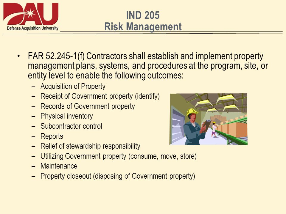 IND 205 Risk Management