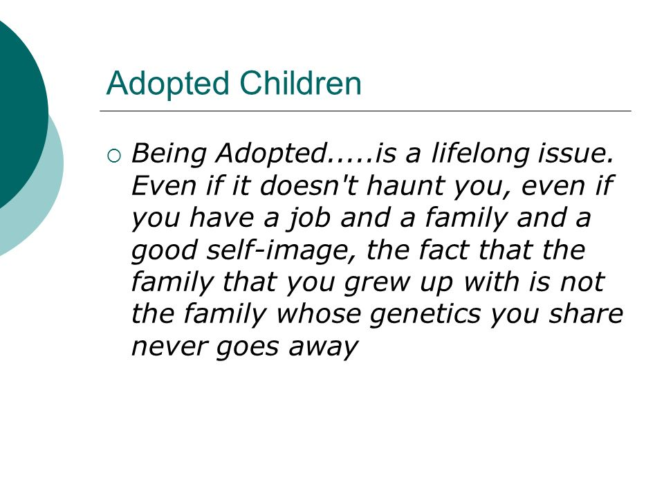 Adopted Children