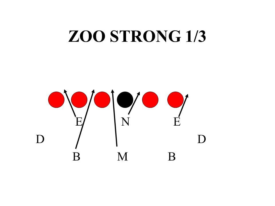 ZOO STRONG 1/3 E N E. D D.