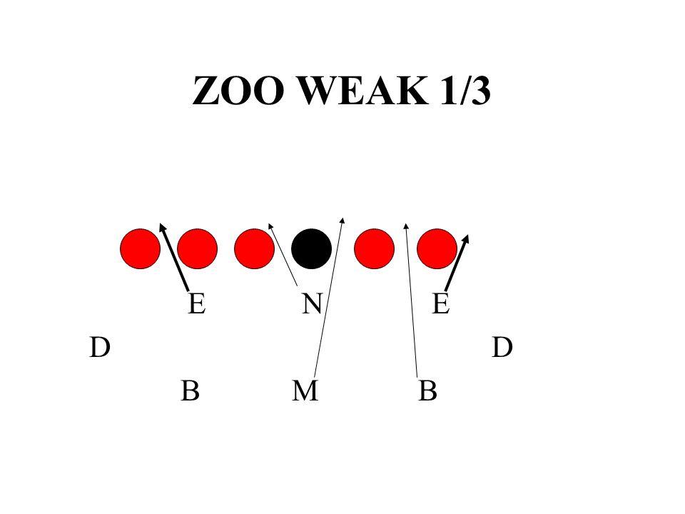 ZOO WEAK 1/3 E N E. D D.