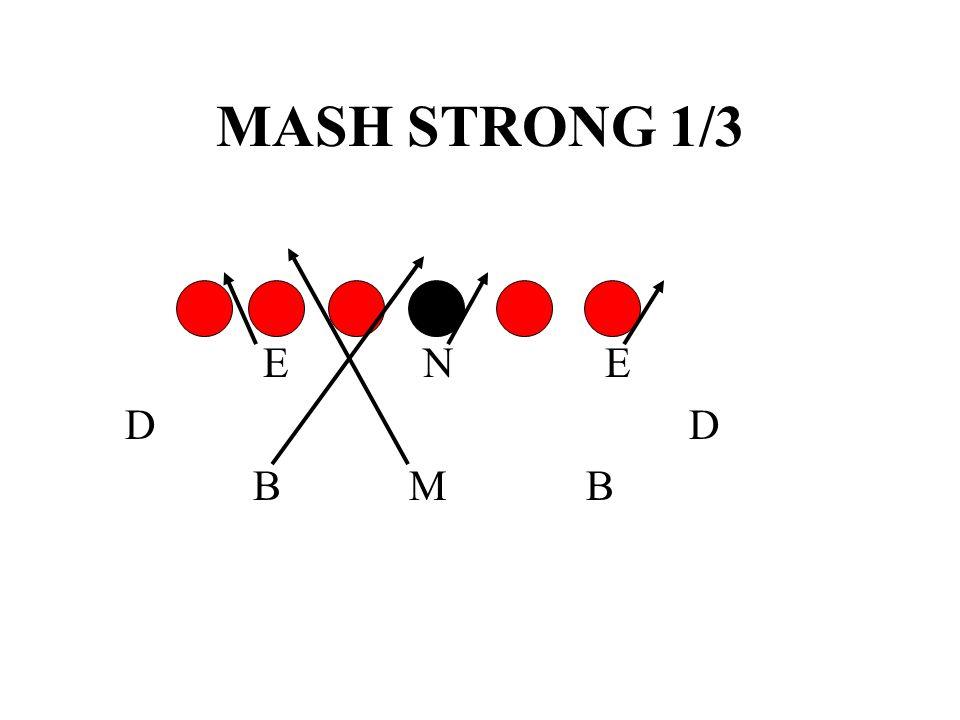 MASH STRONG 1/3 E N E. D D.