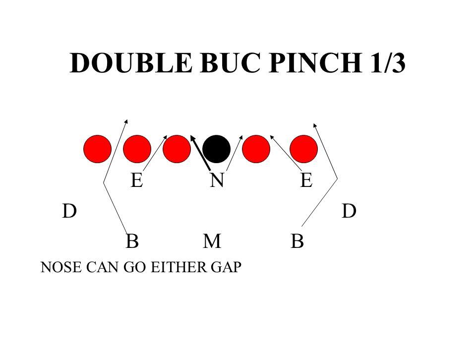 DOUBLE BUC PINCH 1/3 E N E. D D.