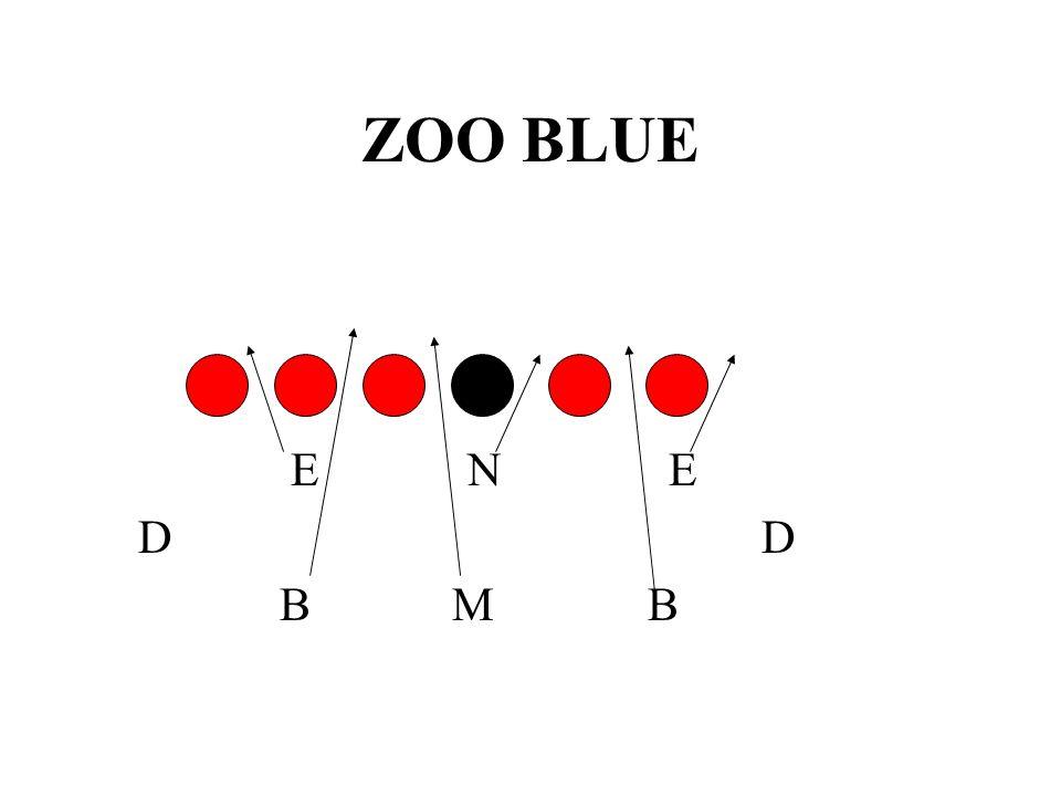 ZOO BLUE E N E. D D.