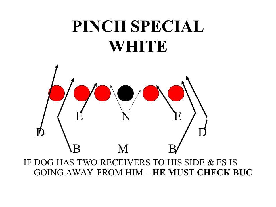 PINCH SPECIAL WHITE E N E D D B M B