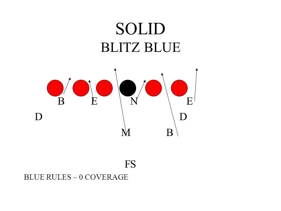 SOLID BLITZ BLUE B E N E. D D.