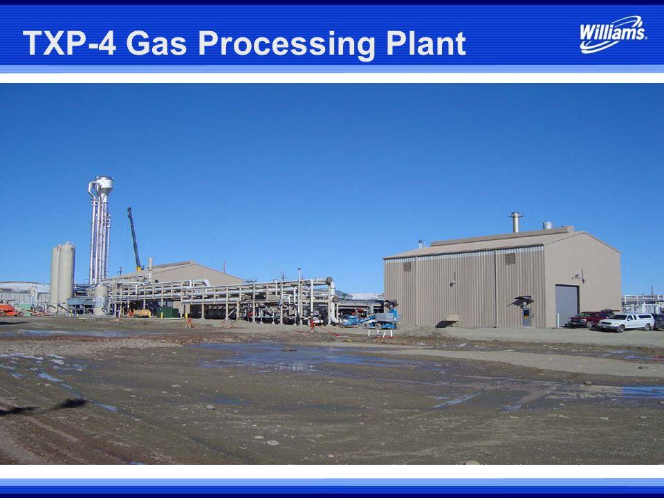TXP-4 Gas Processing Plant