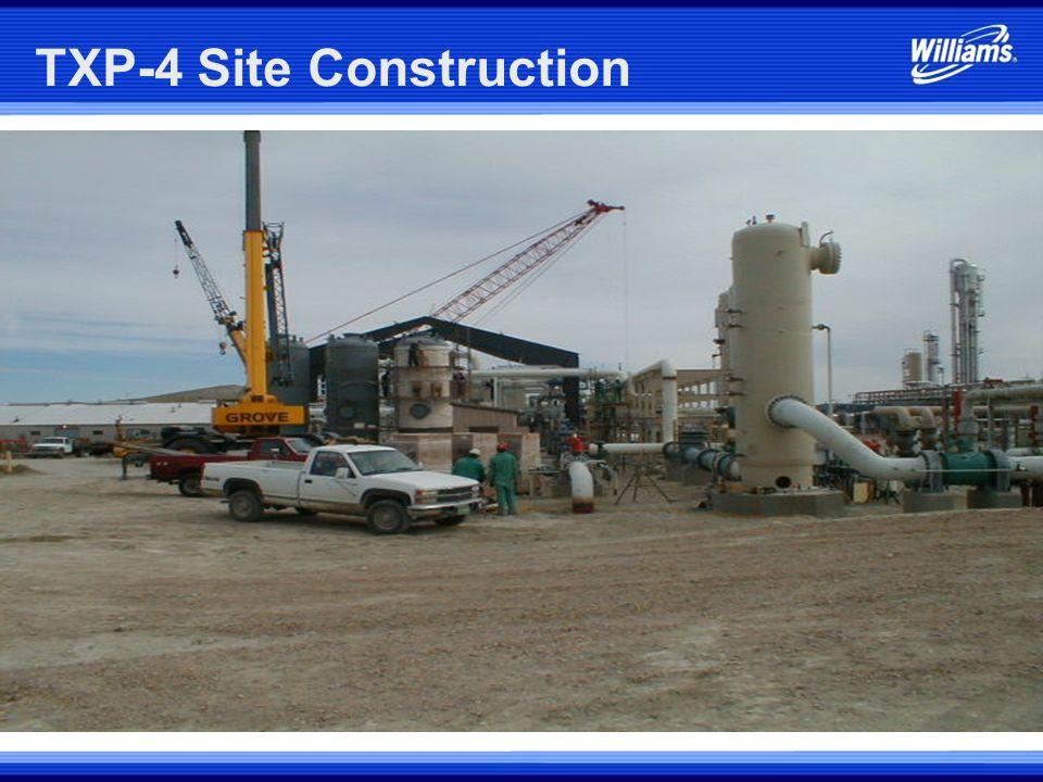 TXP-4 Site Construction